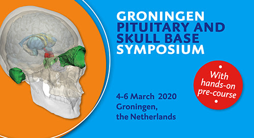 Save the date – Groningen Pituitary and skull base symposium