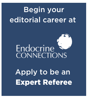 Endocrine Connections – opportunity to join the Editorial Board as Expert Referees